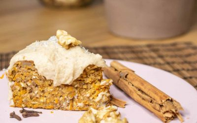 Quick and Easy Whole Food Carrot Cake
