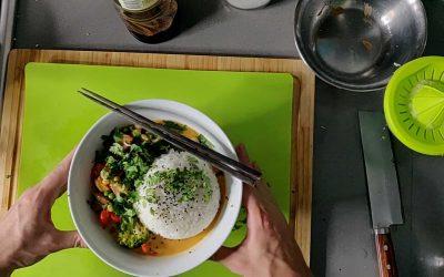 vegan Thai Curry with Crispy Tofu